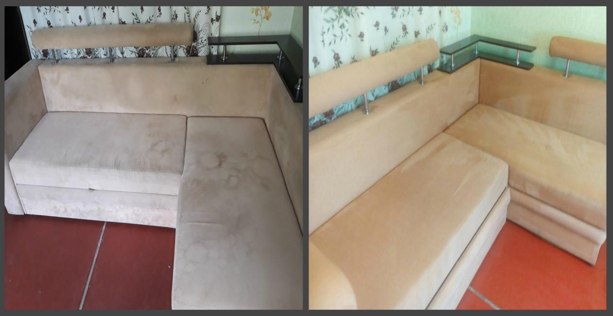 Химчистка дивана 4 посадочных места