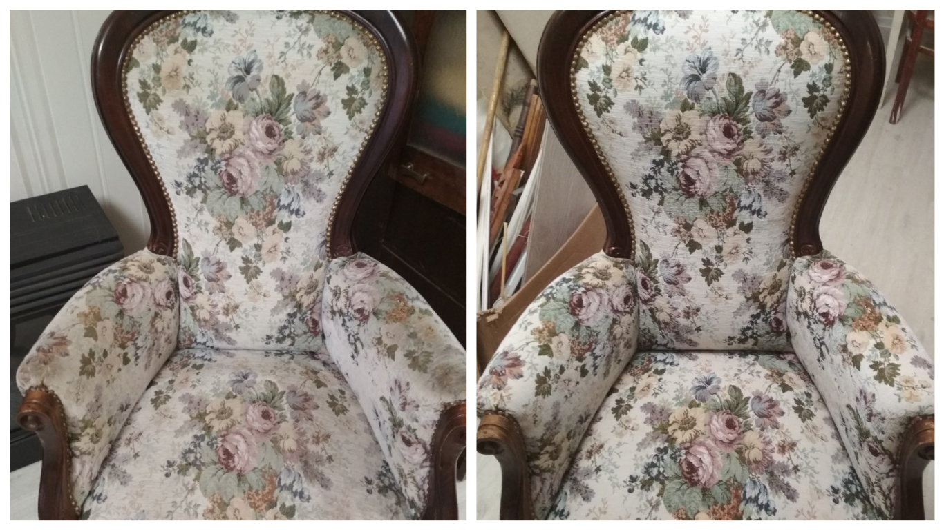 Химчистка кресла (Натуральная ткань Гобелен)